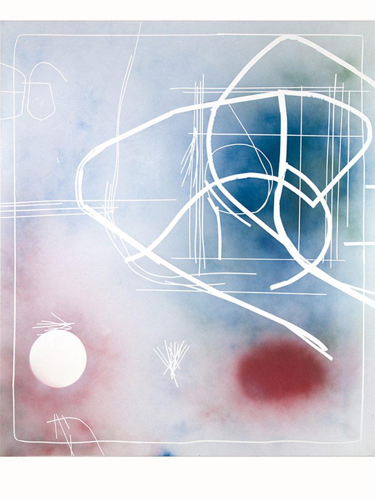 2016 | BASICS WERNER NEUWIRTH Formica Abstract I 2015 Acryl auf Leinwand 170 x 150 cm