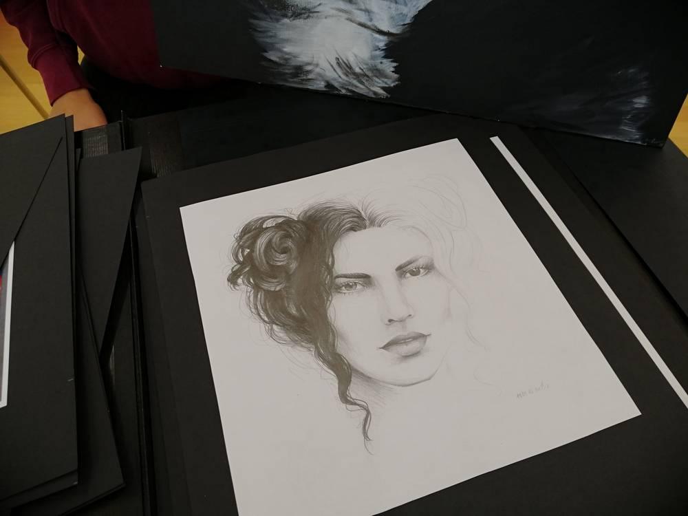 Mit gekonnten Zeichnungen überzeugte Zoe die Jury
