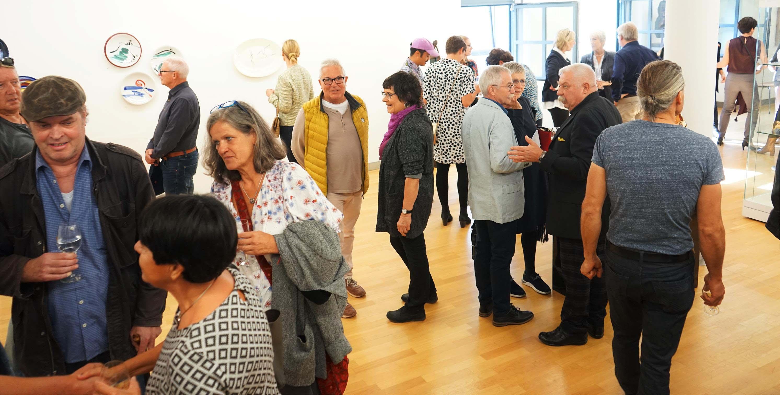 Kunstverein Ausstellungseröffnung 13 Oktober 2019