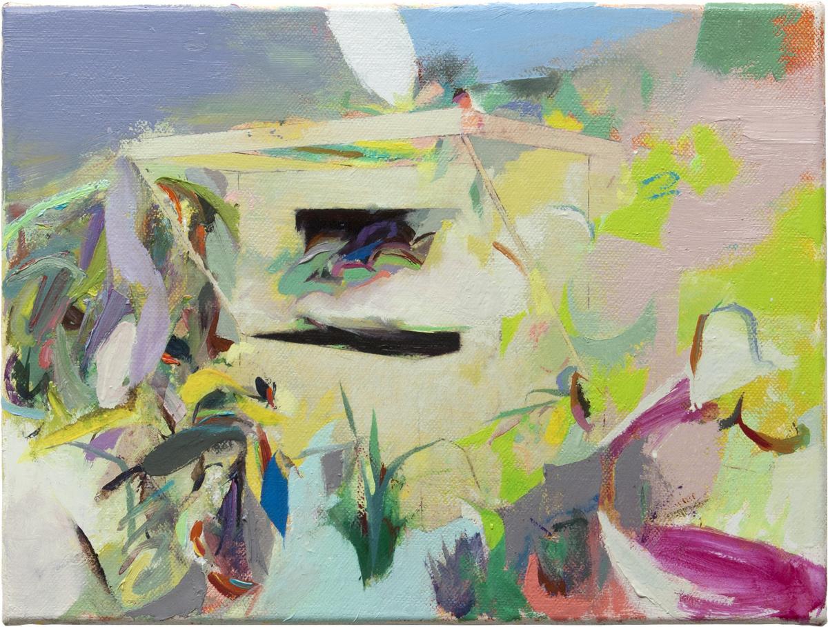 Tomomi Morishima | Ohne Titel, 2020, Öl auf Leinwand, 30 x 40 cm