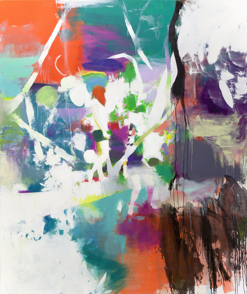Tomomi Morishima | Iberis, 2015, Öl auf Leinwand, 250 x 210 cm
